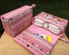 Pink diaper bag pretty little trees girly baby bag organizer | Etsy