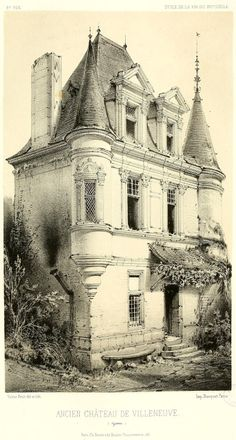 The Château de Villeneuve, France