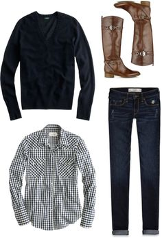 """Weekend ootd"" by southernbelle on Polyvore"