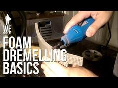 Foam Dremelling Basics for Building Cosplay Armour - YouTube