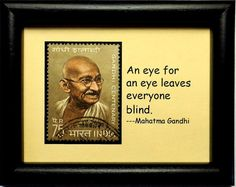 #MahatmaGandhi #India  #PassionGiftStampArt #Art