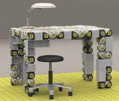 Terrific Tech: 10 Futuristic Advances in Robotics   self assembly furniturr