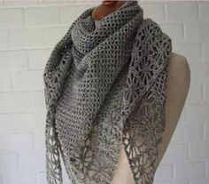 Look how beautiful this super soft scarf! I loved it! | Free Patterns