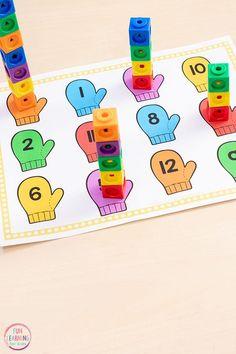 Winter Math and Literacy Activities – Fun Learning for Kids Shop Source by jkrasley Look winter Numbers Preschool, Kindergarten Math, Preschool Activities, Kids Math, Fun Math, Kids Fun, Maths, Christmas Activities, Winter Activities