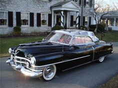 This handsome 1951 Cadillac, with its distinctive clear vinyl top, has a dash plaque saying it was used as the Royal Parade Car by Princess Elizabeth, prior to her accession to the throne, and the Duke of Edinburgh during their 35-day tour of Canada in 1951. The RCMP drove the cars (two) that were used and provided security. At the conclusion of the tour, the RCMP attached the brass plaques to the dash, saying the cars had been used by Royals. Was for sale @ $83,600 has since been sold.