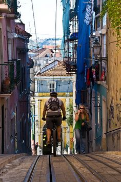 Lisboa, biking in Lisbon, Portugal