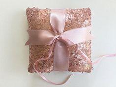 Ring Bearer Pillow / Rose Sequin