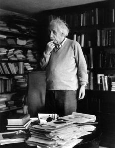 Ernst Haas (1921-1986) - Albert Einstein - 1951