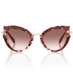 6c9d84b2779 Noir cat-eye sunglasses