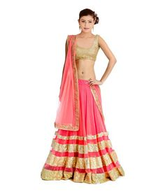 Design Name:Pink Beauty Lehenga Choli Price:599