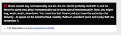 This person who got an exclusive interview with God.   19 Creative Ways People Have Satirized Anti-Gay Arguments