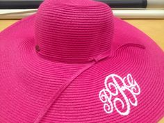 Dress your HaT up with your Monogram college-graffiti.com