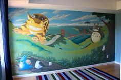 The Amazing San Francisco Baby Room Mural