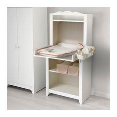 HENSVIK Cabinet with shelf unit, white 75x161 cm white