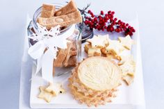 Light and buttery shortbread makes a perfect Christmas food gift, if you can bear to part with them.