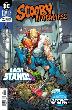 COMIC BOOK: Scooby Apocalypse # 25. PUBLISHER: DC Comics / Hanna-Barbera. WRITER(S) Keith Giffen, J.M. DeMatteis. ARTIST: Ron Wagner, Andy Owens. COVER ARTIST: Howard Porter. ORIGINAL RELEASE DATE: 5 / 9 / 2018. COVER PRICE: $3.99. RATING: