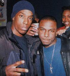 "ilovemaryjane: "" Big L and Ras Kass "" Hip Hop Underground, Ras Kass, Black Music Artists, East Coast Hip Hop, New School Hip Hop, History Of Hip Hop, Hip Hop Hooray, Brooklyn, Hip Hop World"