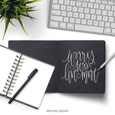 Worry less live more  #type #typo #typelove #typespire #typetopia #typoholic #typedesign #typematters #typeeverything #typeoftheday #typography #handdrawn #handwriting #handmadefont #handdrawntype #goodtype #loveletters #ilovetypography #customtype #calligram #calligraphy #picoftheday #instaart #thedailytype #dailytype #vector #modernscript #moderncalligraphy #instadaily #artoftype