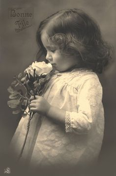 vintage antique photo baby girl post card                              …