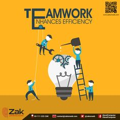 Nothing achieves tasks better than a team that gels well. More than one individual working for the same goal or objective are a team. Make sure you share a good rapport with your team, so you can achieve your goals in a shorter span of time!  #Olevel #Alevel #ComputerScience #CIE #ZakOnWeb