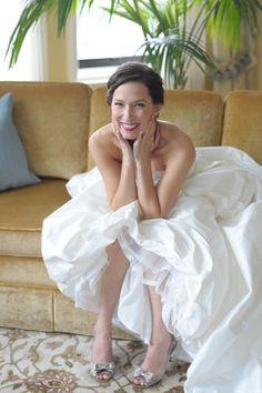 love this bridal portrait