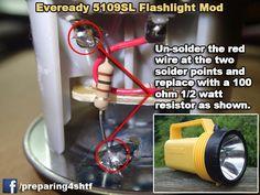 A 1000 HOUR $5 LED FLASHLIGHT