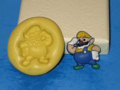 Wario Super Mario Bros Push Mold Silicone Cake by LobsterTailMolds