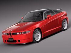 I always quite liked the threatening brutality of the Alfa-Romeo SZ...K #alfaromeozagato