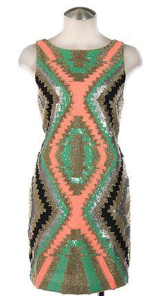 BEADED DRESS OLIVE $98- CALL SPLASH TO ORDER 314-721-6442