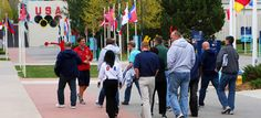 Located within the U.S. Olympic Training Center in Colorado Springs, Colo., the $8 million Olympic Visitor Center hosts approximately 140,00...