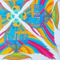 Colouringbook Milliemarotta Bees Design Creative Colourful Colour Saturdaynight