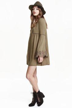 Vestido en tejido arrugado | H&M