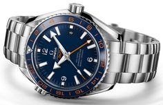 Omega Seamaster Planet Ocean GoodPlanet GMT Watch