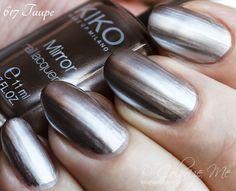 KIKO - Mirror Nail Lacquer Taupe 617