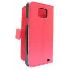 Samsung Galaxy S2 punainen puhelinlompakko.