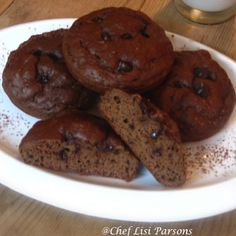 Double Chocolate Protein Cookie - 2 C chocolate protein powder, 1 t baking powder, 2 T cocoa, 3 T cocoa nibs, 2 eggs, 3/4 C pumpkin. Bake in greased whoopee pan at 350 for 10 minutes.