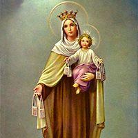 Novena a la Virgen del Carmen Pope Francis, Catholic, Painting, Fictional Characters, Image, Art, Holy Quotes, Papa Francisco, Angeles