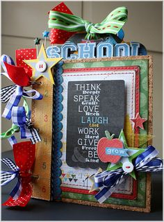 School Mini Album (Oct 9, 2011)    this book is awesome! id like to see more of it but the link is messed up :/  if anyone finds it will you share where please