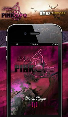 Pink Ops by Just for Does. This powerful sportsman hunting app auto-collects everything from every trip. Then gives you the power to plan, analyze and strategize making your best day every time!