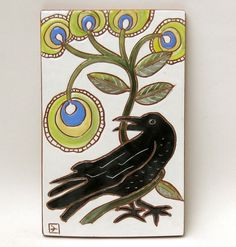 Love this Corvidae bringing a gift of Whimsical Flowers!!!   :)