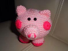 Crochet - pig