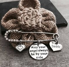 May your angel always be by your side Mom Dad Grandma
