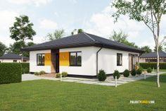 Projekty domov - projekt domu bungalov EKO104