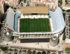 Estádio de Mestalla Valencia CF