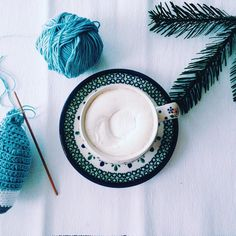 When the days between Christmas and NY blend into one time of staying in your pyjamas cuddling babies crocheting and drinking coffee. Last year at this time I was almost ready to have my baby I remember this time as painful beautiful and surprisingly calm. Women around me built such confidence in my body to birth a baby and for that I am forever grateful. #ittakesavillage #girlgang #girlpower Instagram inspiration