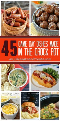 45 Game Day Dishes Made in the Crock Pot
