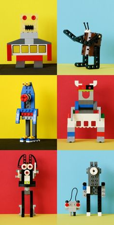 LEGO robots design!