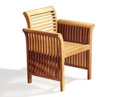 Aero Teak Armchair, All Garden Chairs