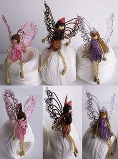 Pin It Weekly Winners of the 2014 Show 'n Tell Contest : The Tatting Corner: Supplies for Crocheting, Lacemaking, Tatting: Tatting Jewelry, Tatting Lace, Crochet Fairy, Crochet Dolls, Needle Tatting Patterns, Crochet Patterns, Tatting Tutorial, Lacemaking, Bobbin Lace