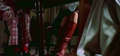 Julie Christie's boots in Don't Look Now are to die for